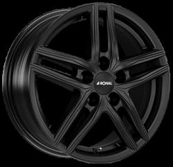 R65 Dull Black 6.5x17